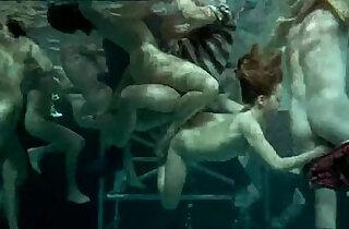 Underwater Orgy In The Sign of The Virgin 1973 Sex Scene