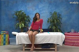 Nice girl spanking hard