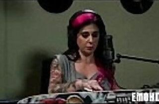 Emo slut girl with tattoos