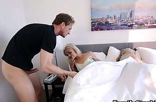 Step Dad Wakes Up Teen step Daughter See Full hd Video