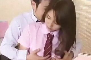 Hot school girl forced by class mate Full