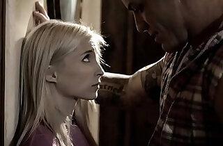 Petite teen pleases her bossy stepdad