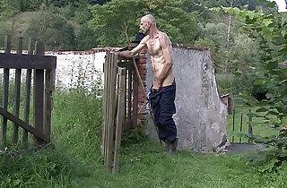 Oldman pleases sons gf outdoors