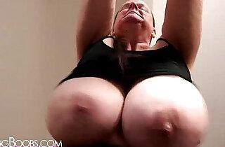 Granny swings her massive naturals