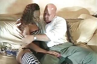 White guy fucks ebony slut in sexy