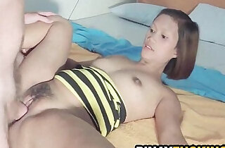 Real Amateur slut Gets Her Fuzzy Pussy and Fucked