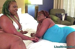 Super Hot Films LisaRivera and PoizonIvy share long hard white cock!!