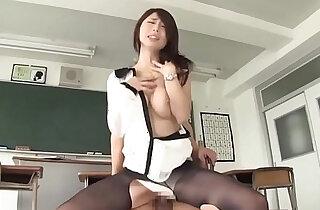 Screamming female teacher temptation extracurricular lessons doggy