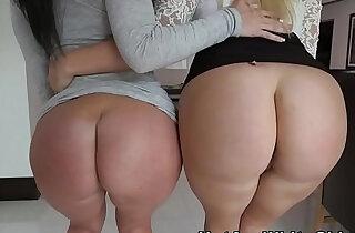 Big butt sluts share cock