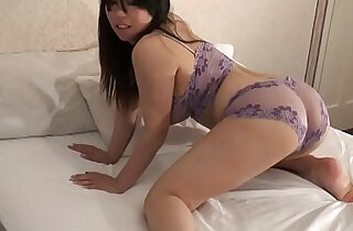 Femorg Big Boobed Curvy Asian in Lingerie Masturbates Shaved Twat in top masturbating videos
