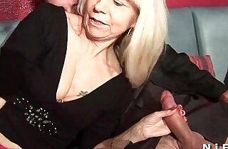 French mature in stockings gets double penetrated in a swinger club in top stockings videos