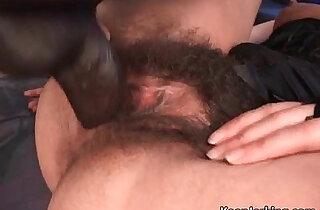 Hot sexy brunette with hairy