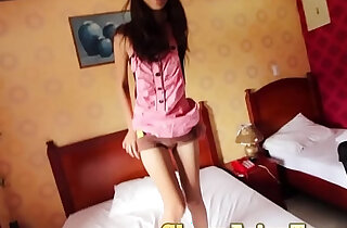 Picking up 18 yo pinay with perfectly slim body