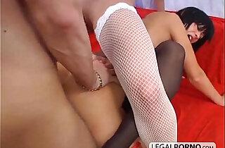 One big cock and fucking three lesbo girls TS