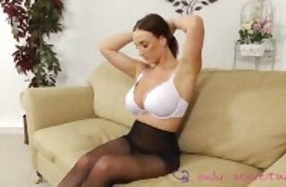 Stacey Poole opaque pantyhose