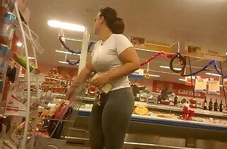 Amazing pawg leggings
